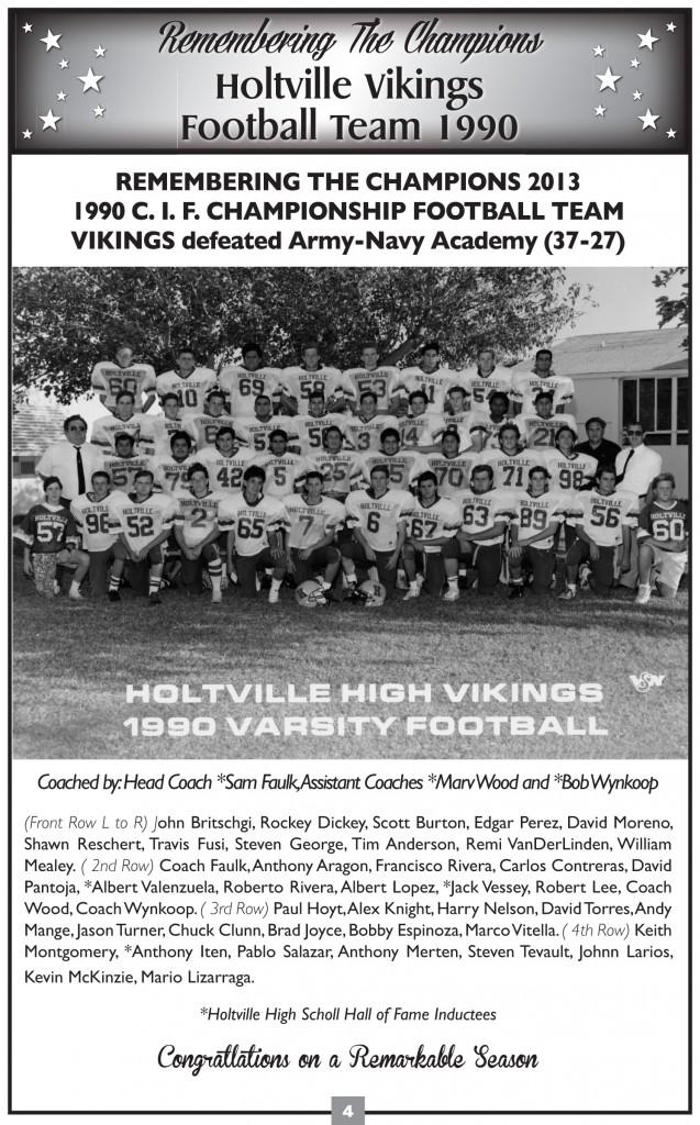 1990 Football team