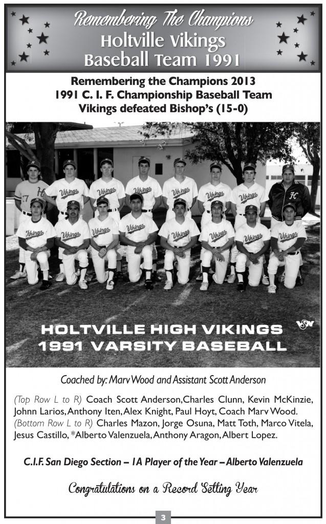 91 Baseball team